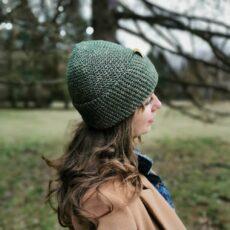 dziewczyna w zielonejczapce